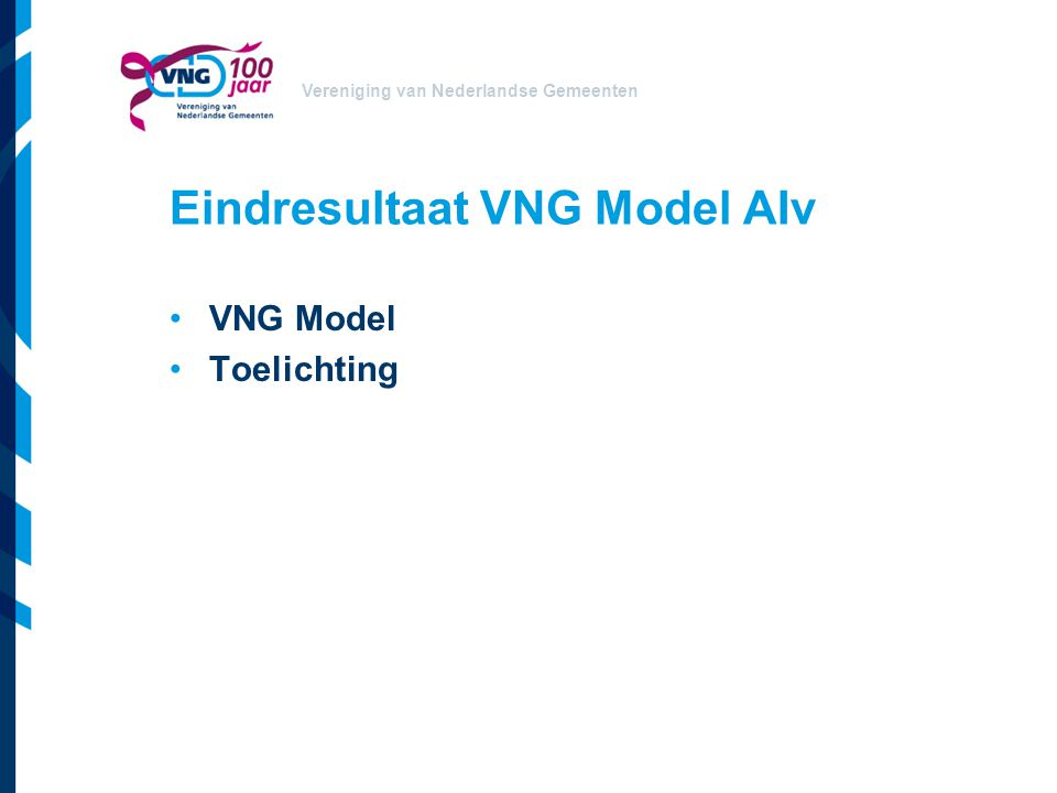 Eindresultaat VNG Model AIv