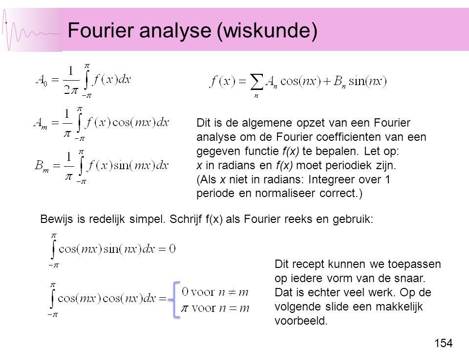 Fourier analyse (wiskunde)