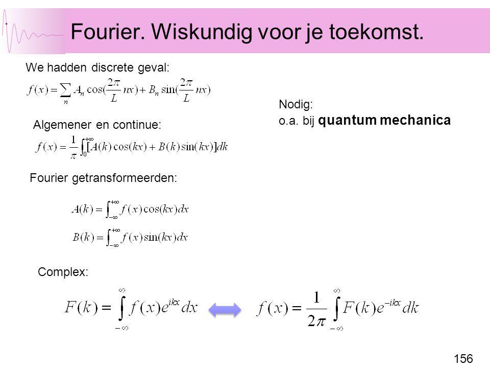 Fourier. Wiskundig voor je toekomst.