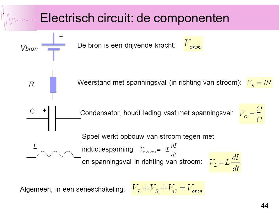 Electrisch circuit: de componenten