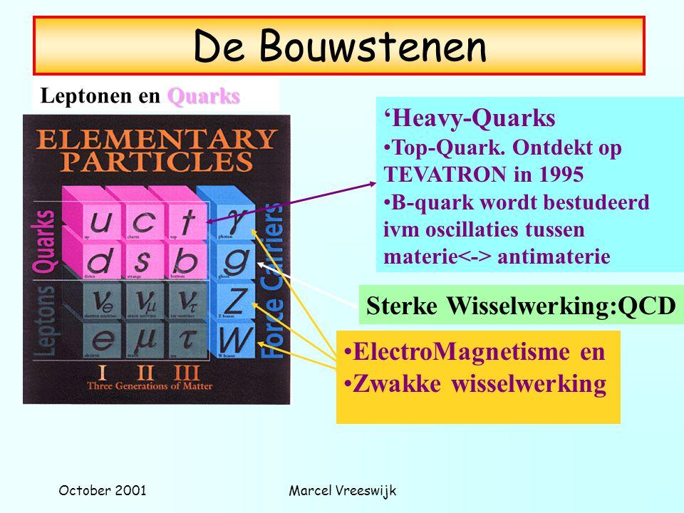 De Bouwstenen 'Heavy-Quarks Sterke Wisselwerking:QCD