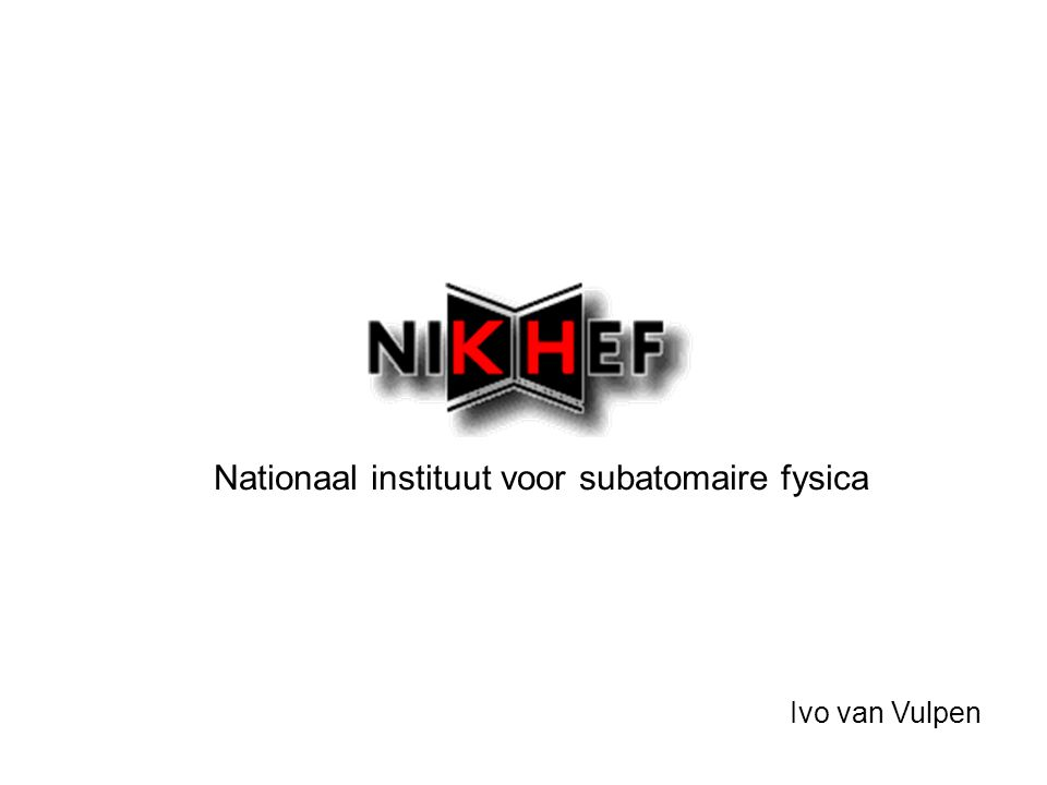 Nationaal instituut voor subatomaire fysica