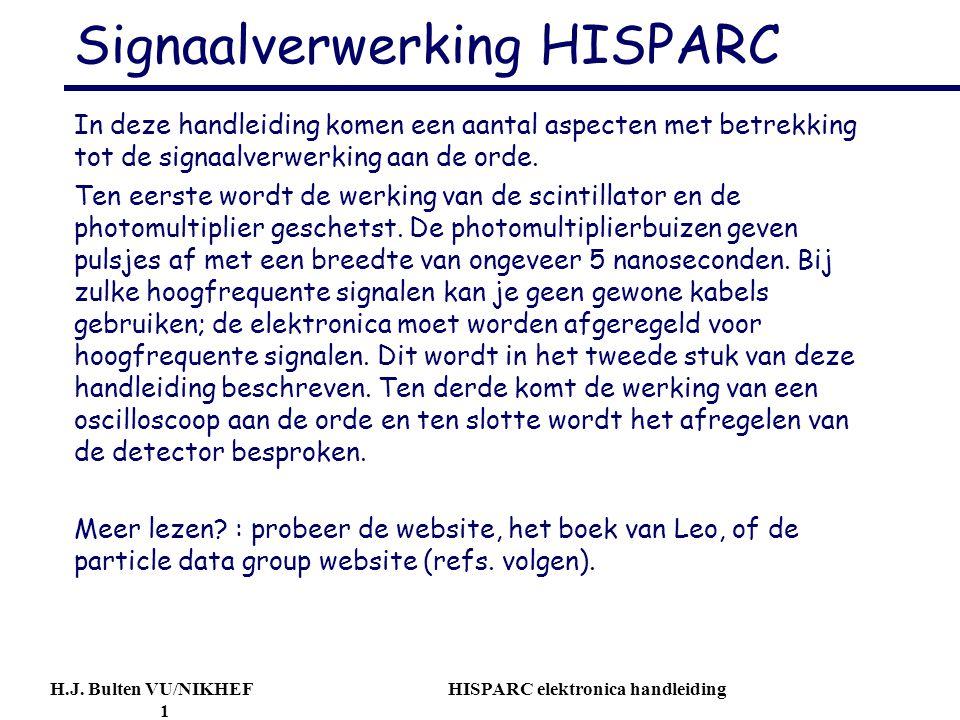 Signaalverwerking HISPARC