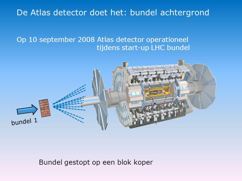 De Atlas detector doet het: bundel achtergrond