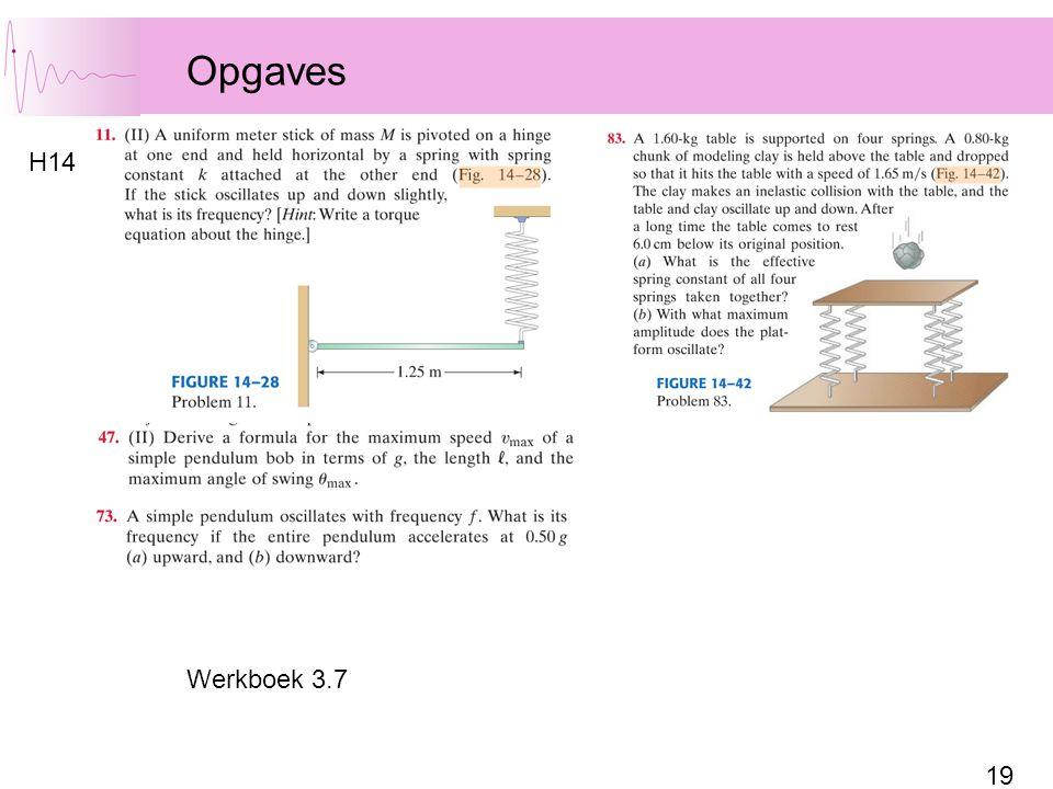 Opgaves H14 Werkboek 3.7