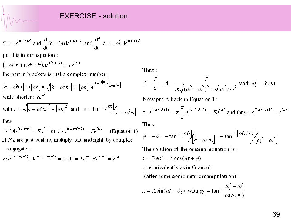 EXERCISE - solution