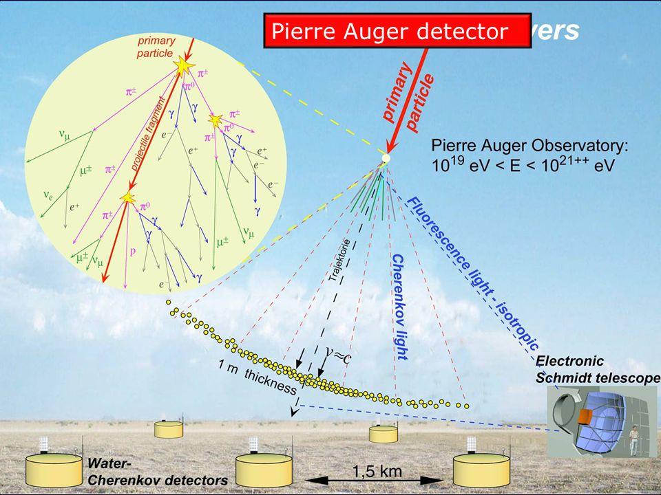 Pierre Auger detector