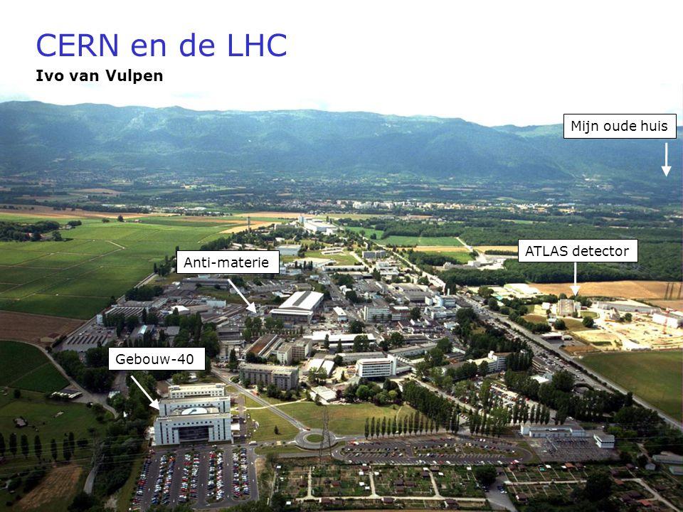 CERN en de LHC Ivo van Vulpen Mijn oude huis ATLAS detector