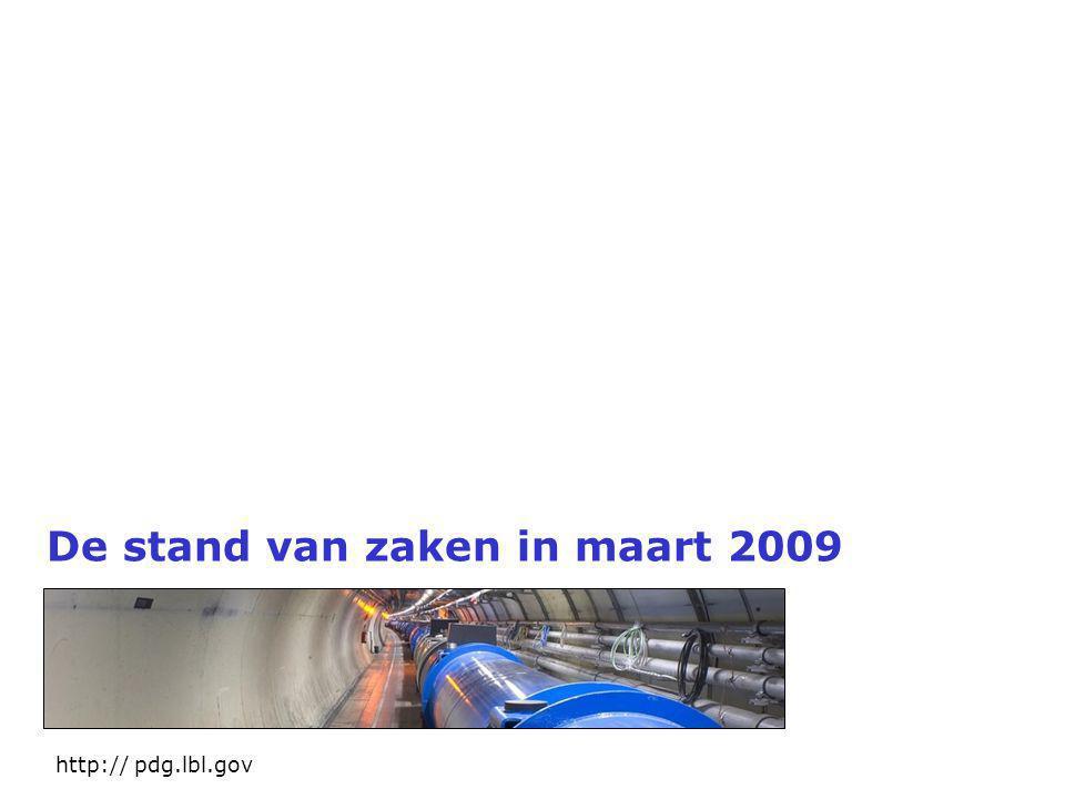 De stand van zaken in maart 2009