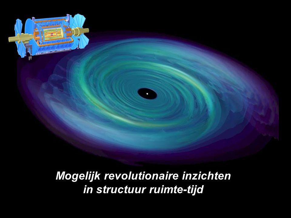 Mogelijk revolutionaire inzichten in structuur ruimte-tijd