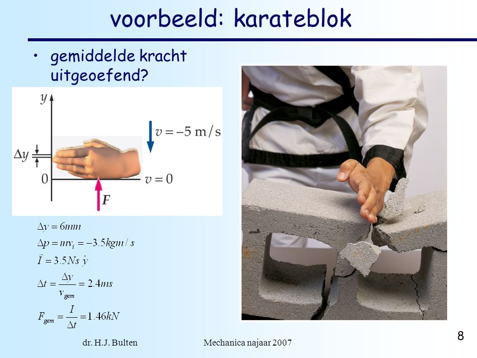 voorbeeld: karateblok