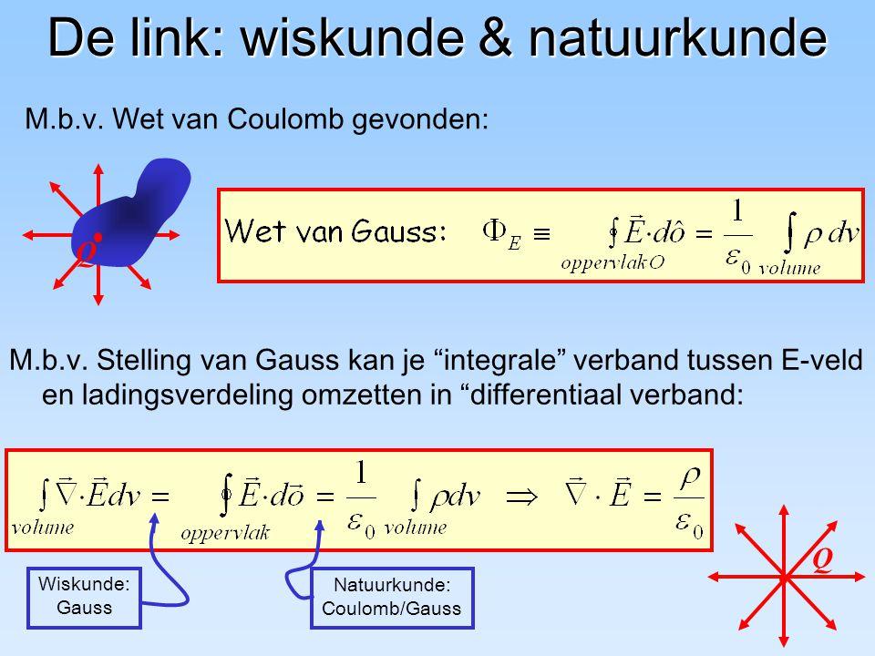 De link: wiskunde & natuurkunde
