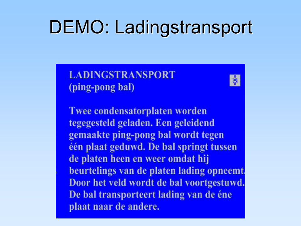 DEMO: Ladingstransport