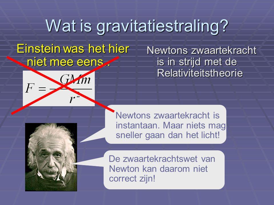 Wat is gravitatiestraling