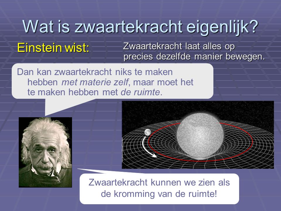 Wat is zwaartekracht eigenlijk