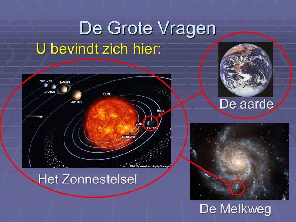 De Grote Vragen U bevindt zich hier: De aarde Het Zonnestelsel