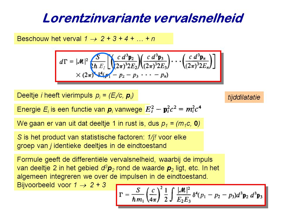 Lorentzinvariante vervalsnelheid