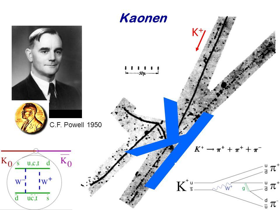 Kaonen K+ C.F. Powell 1950 k Najaar 2008 Jo van den Brand