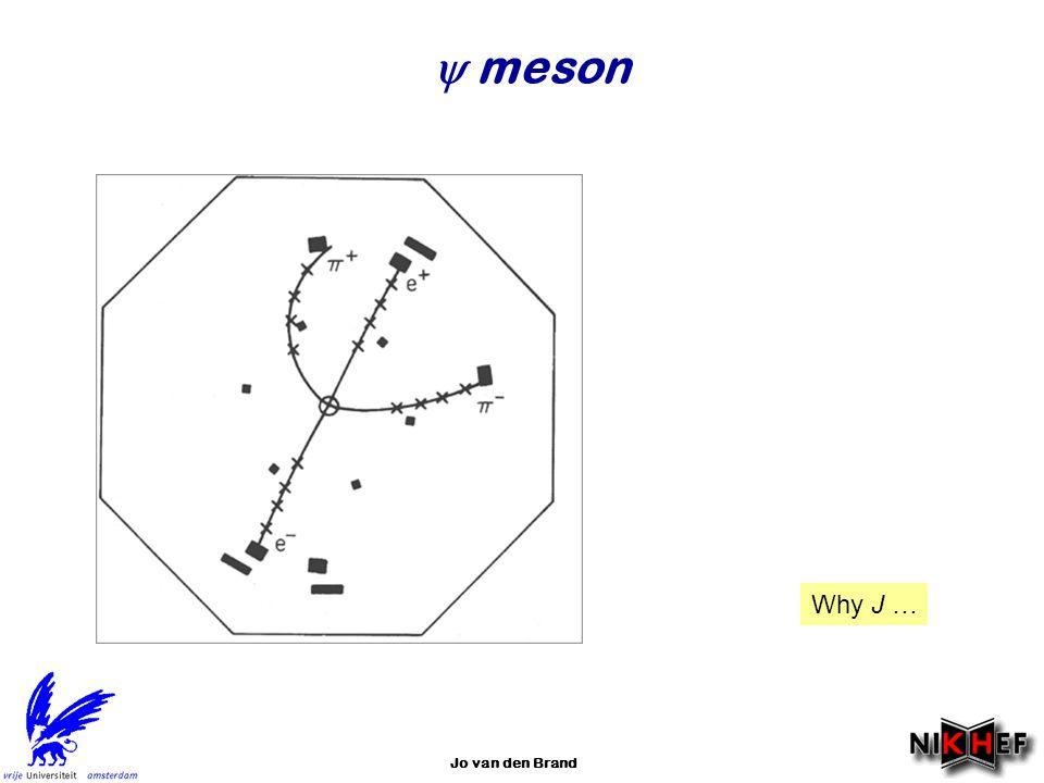  meson Why J … Jo van den Brand