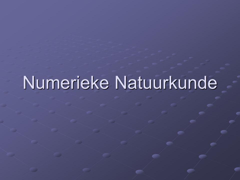 Numerieke Natuurkunde