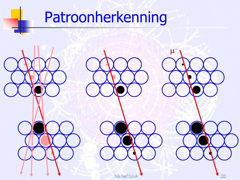 Patroonherkenning  Nikhef/UvA