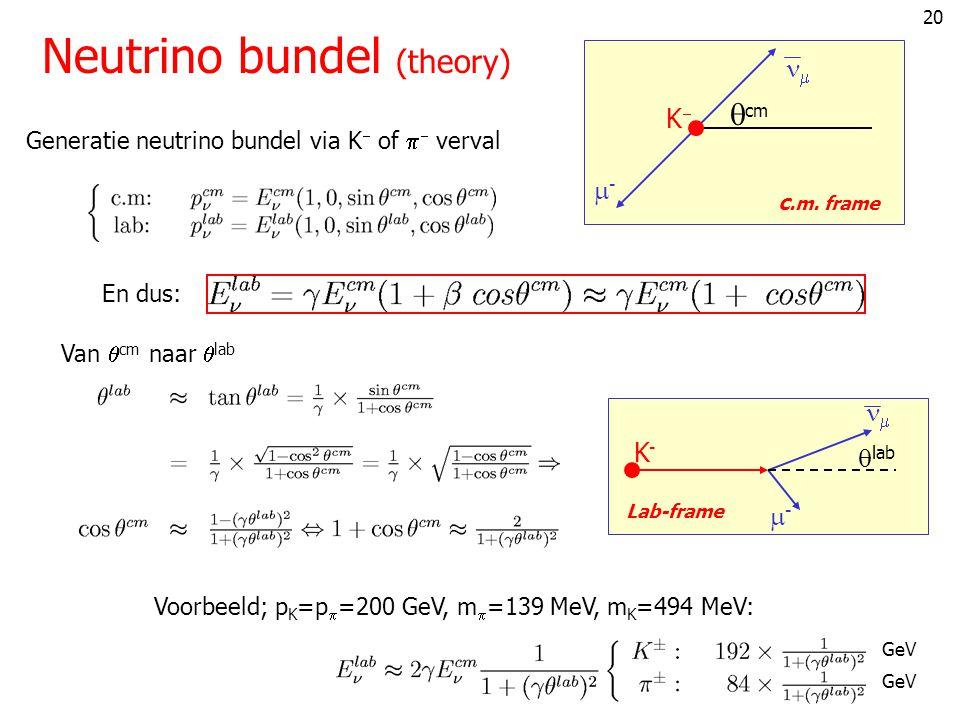Neutrino bundel (theory)