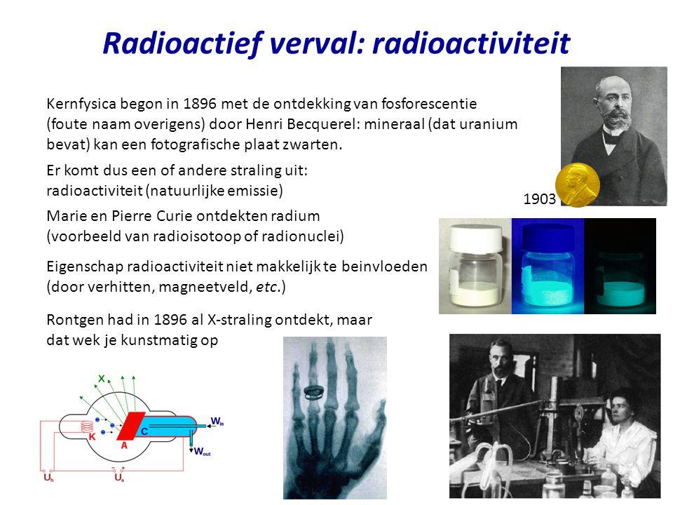 Radioactief verval: radioactiviteit