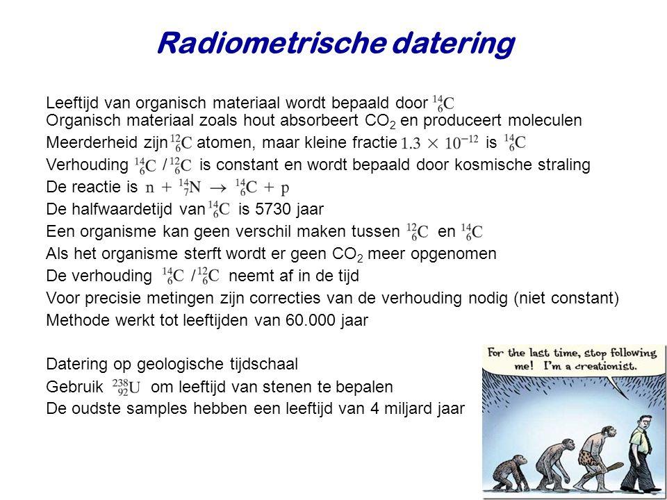 Radiometrische datering
