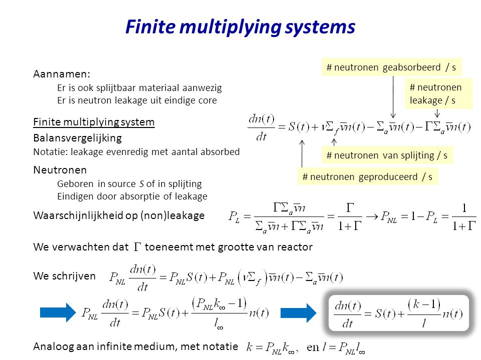 Finite multiplying systems
