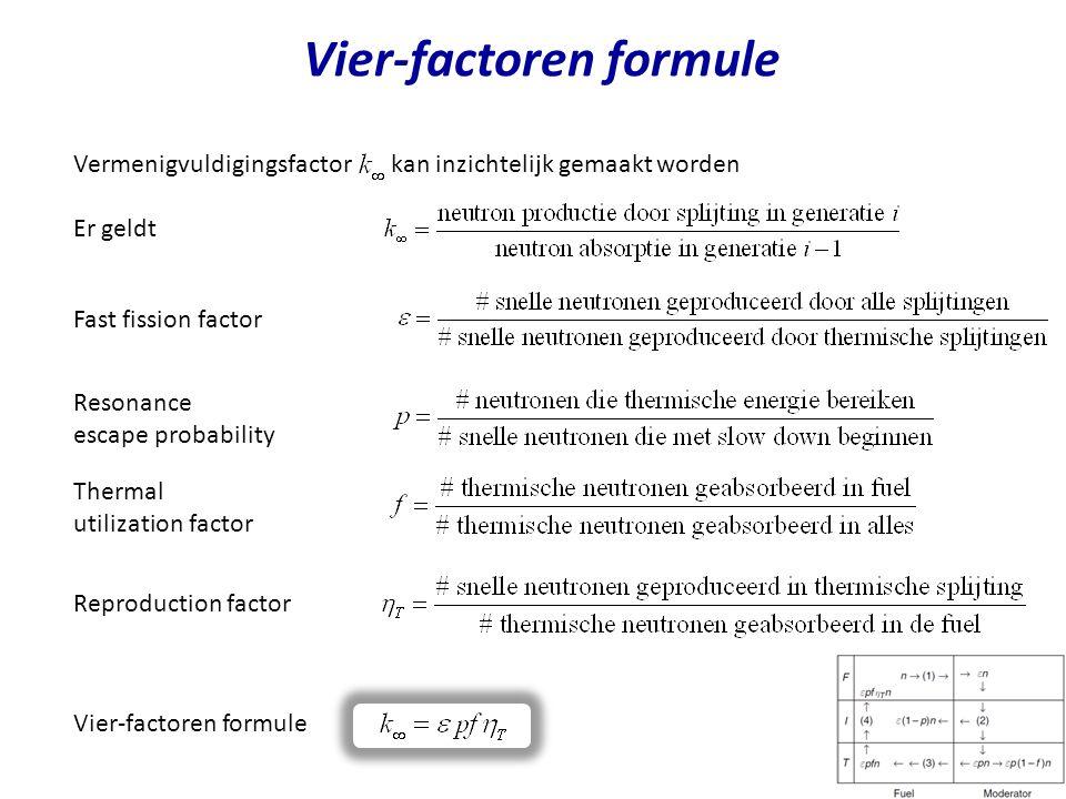 Vier-factoren formule