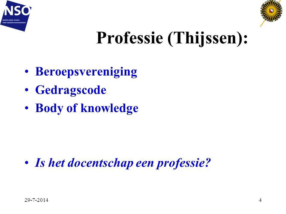 Professie (Thijssen):