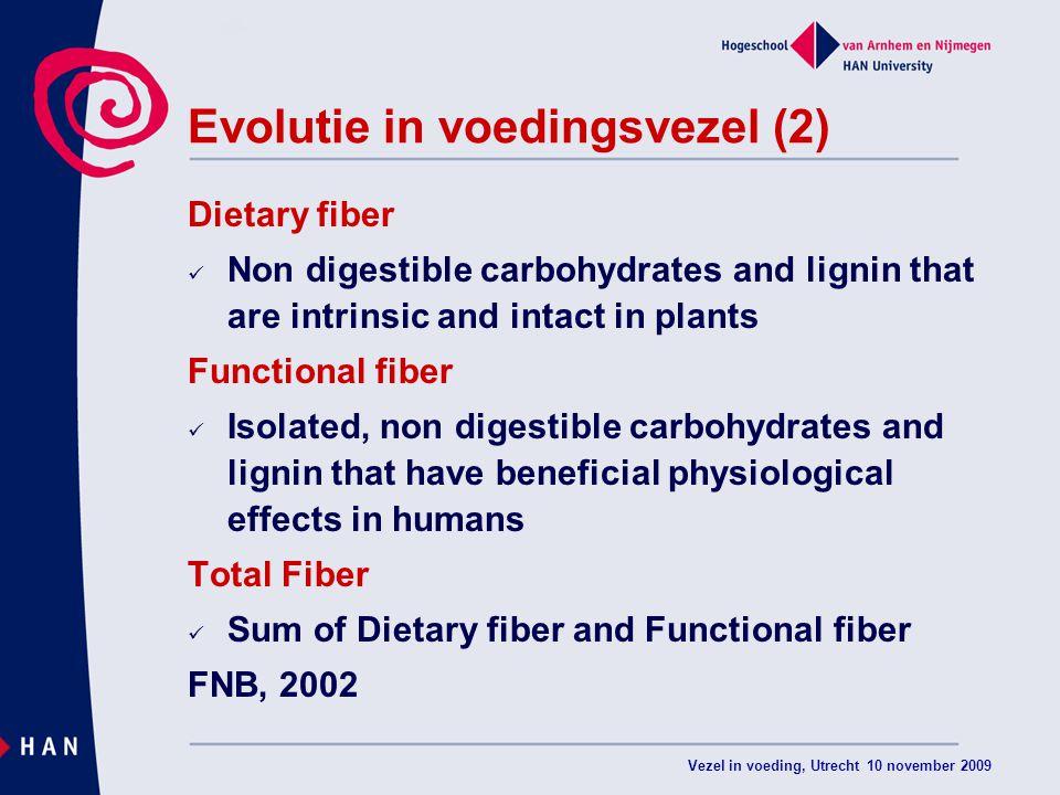 Evolutie in voedingsvezel (2)