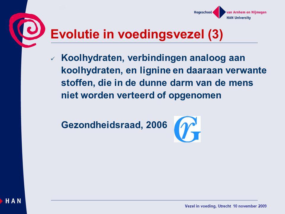 Evolutie in voedingsvezel (3)