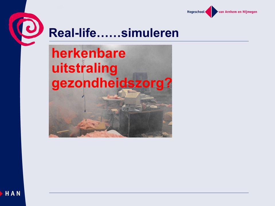 Real-life……simuleren