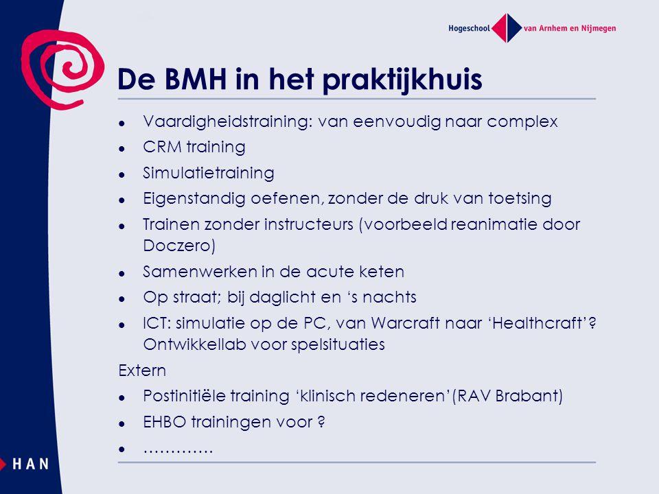 De BMH in het praktijkhuis
