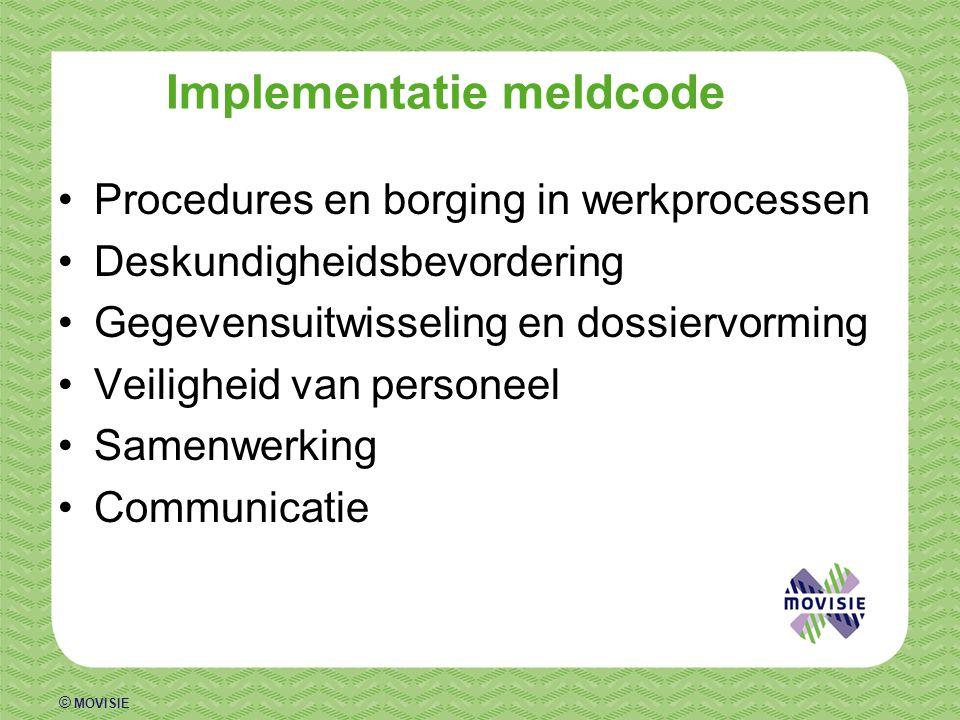 Implementatie meldcode