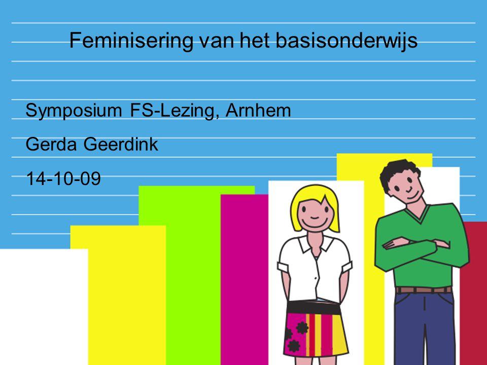 Feminisering van het basisonderwijs