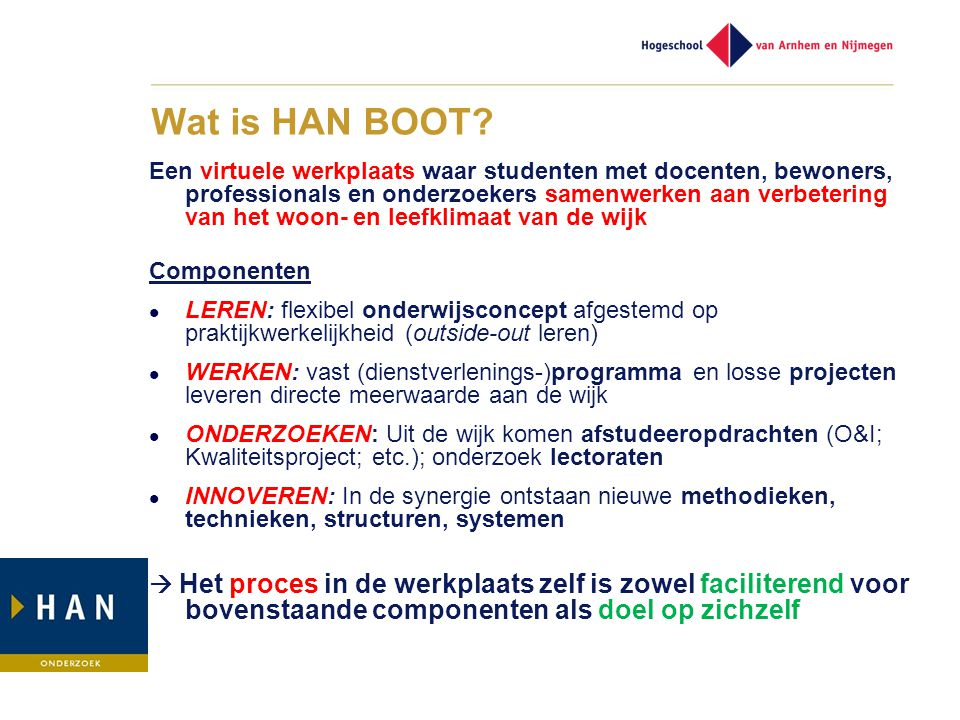 Wat is HAN BOOT