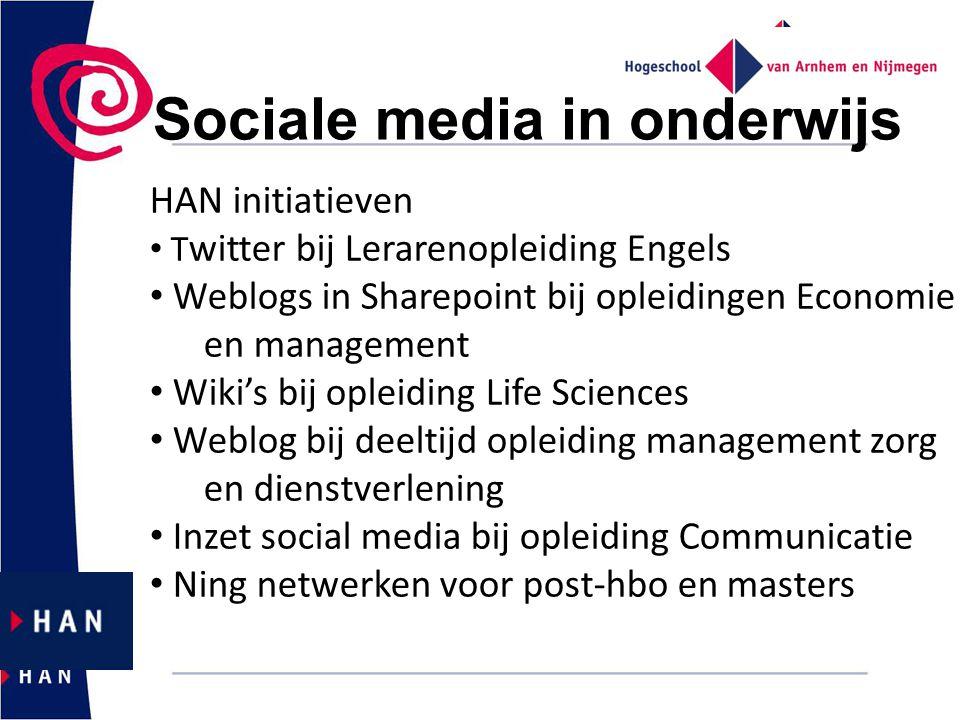 Sociale media in onderwijs