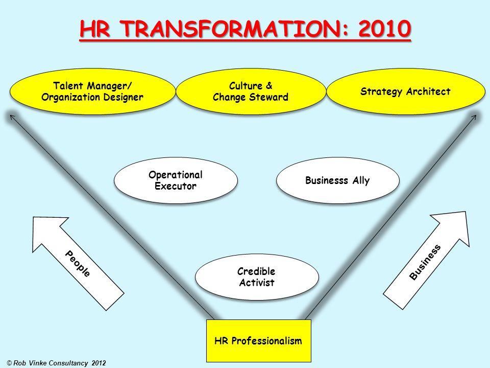 Organization Designer © Rob Vinke Consultancy 2012