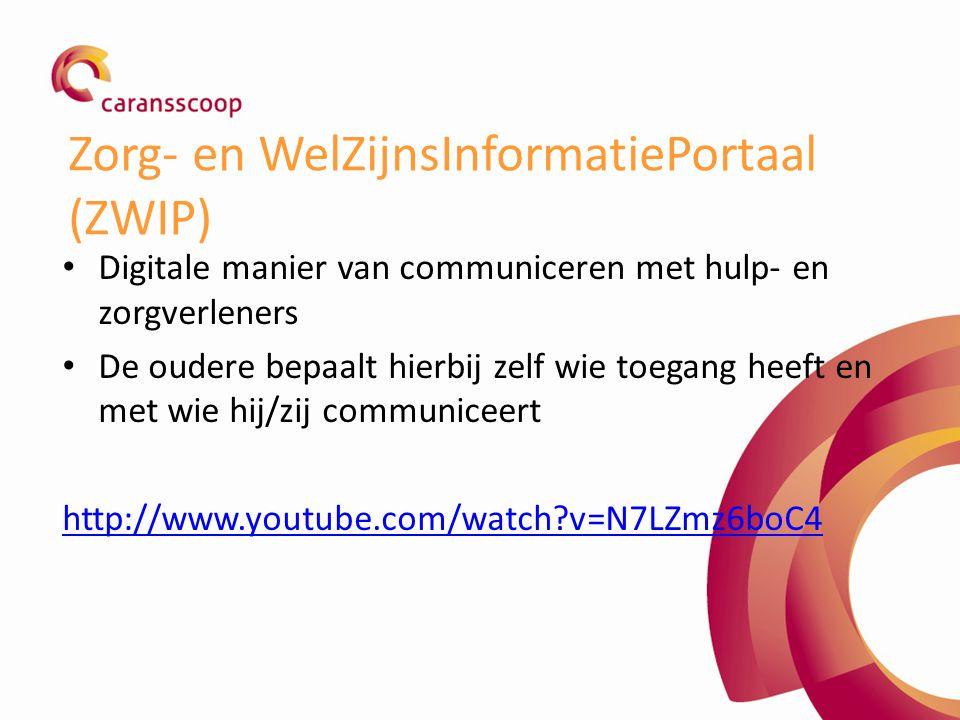 Zorg- en WelZijnsInformatiePortaal (ZWIP)
