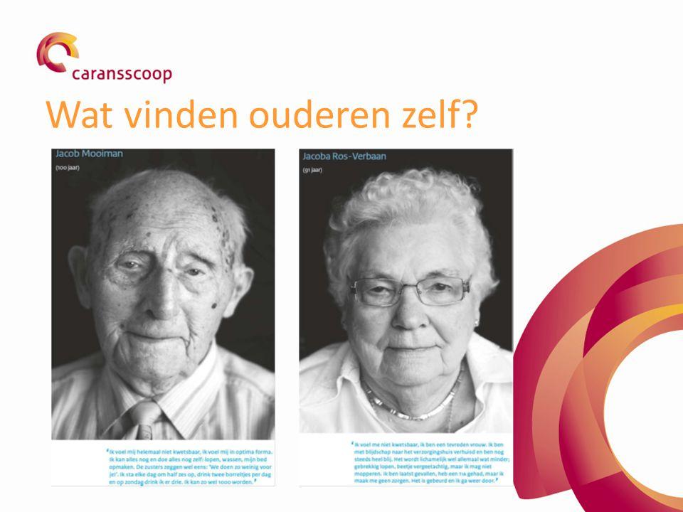 Wat vinden ouderen zelf
