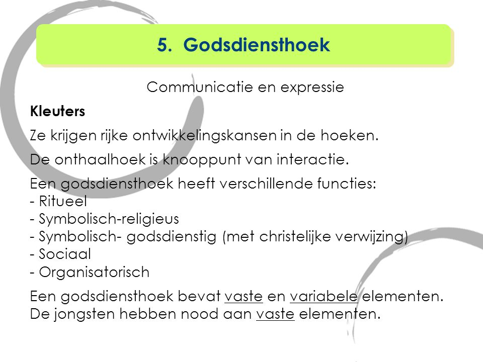 Communicatie en expressie