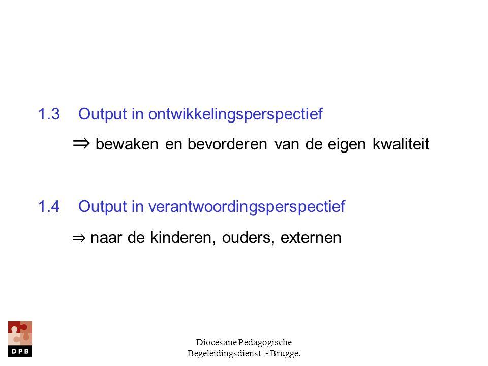 Diocesane Pedagogische Begeleidingsdienst - Brugge.