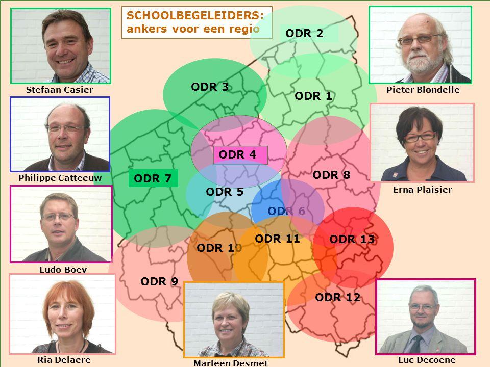 SCHOOLBEGELEIDERS: ankers voor een regio