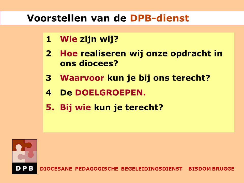 Voorstellen van de DPB-dienst