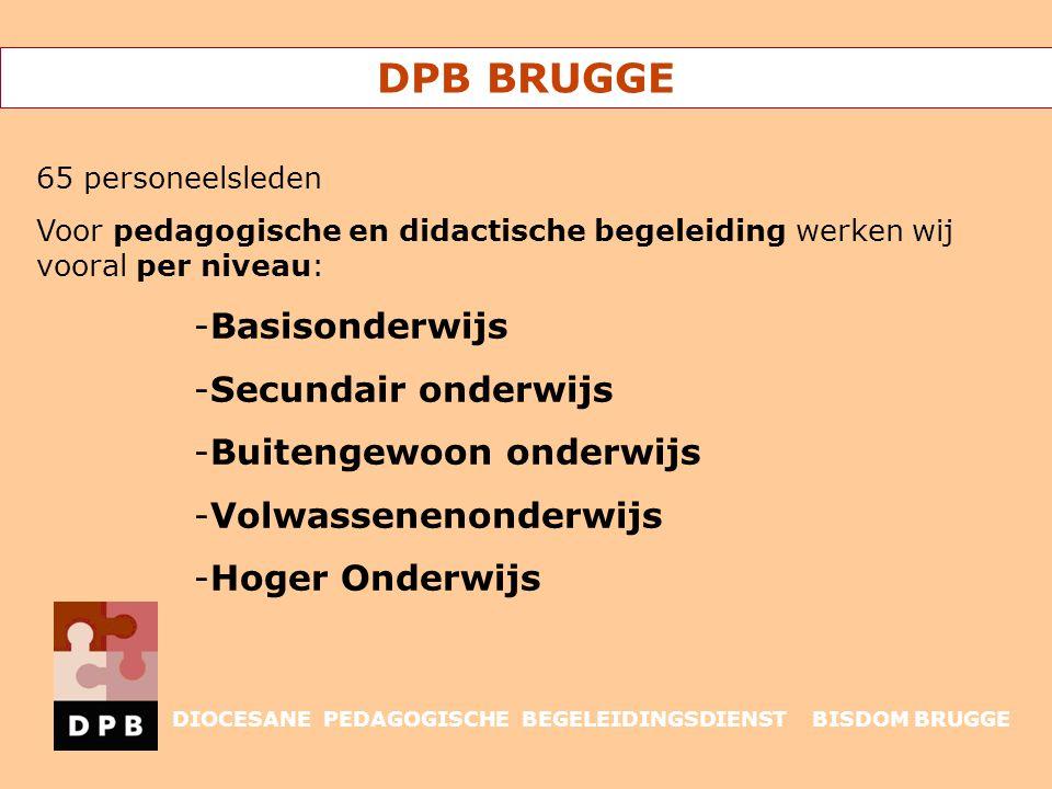 DPB BRUGGE Basisonderwijs Secundair onderwijs Buitengewoon onderwijs