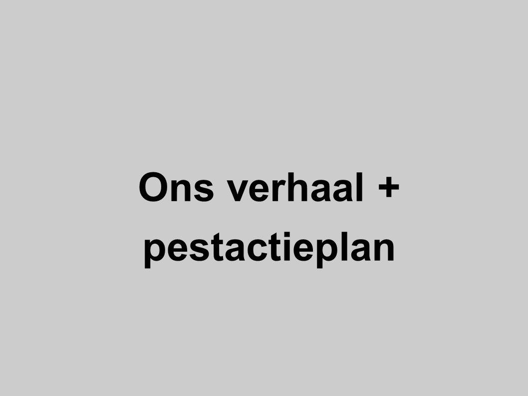 Ons verhaal + pestactieplan