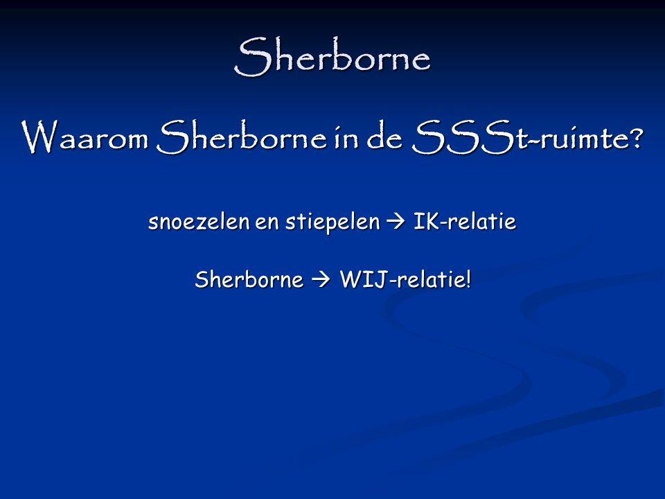 Sherborne Waarom Sherborne in de SSSt-ruimte