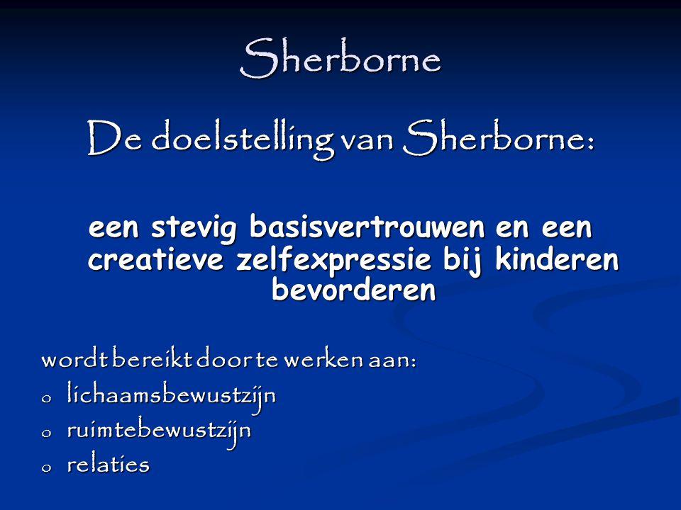 De doelstelling van Sherborne: